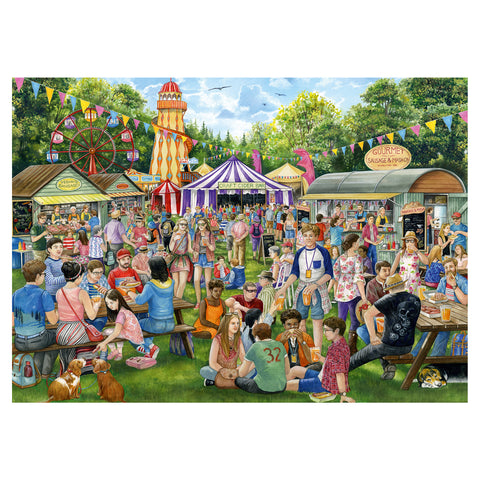 Sausage and Cider Festival 1000 Piece Jigsaw Puzzle