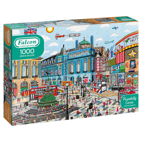 Piccadilly Circus - Falcon Contemporary 1000 Piece Jigsaw Puzzle