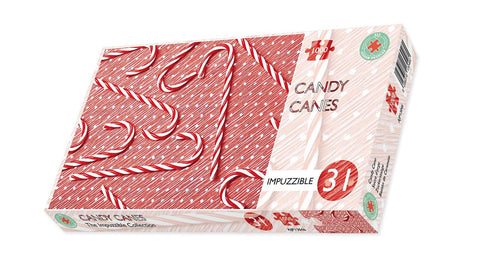 Candy Cane - Impuzzible No. 31 - 1000 Piece Jigsaw Puzzle