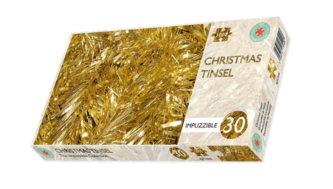 Christmas Tinsel - Impuzzible No 30 - 1000 Piece Jigsaw Puzzle