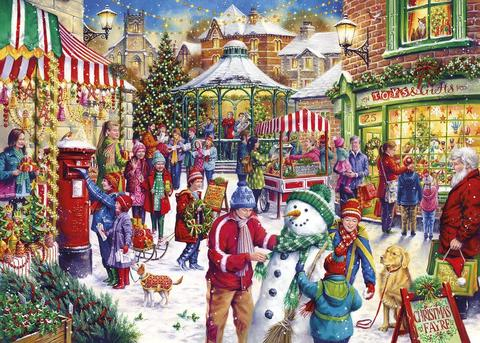 Secret Santa Christmas Limited Edition 1000 Piece Jigsaw Puzzle