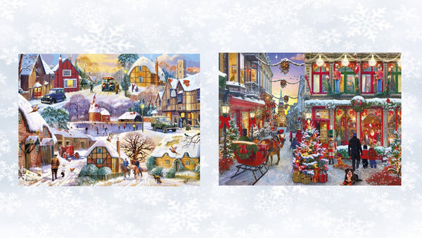Gibson's Christmas Jigsaw Puzzles