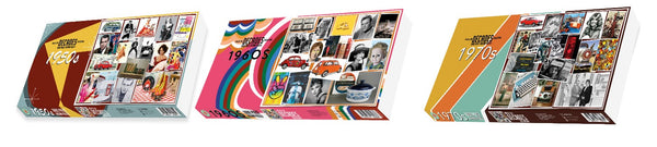 Decades - 70's 500 or 1000 Piece Jigsaw Puzzle
