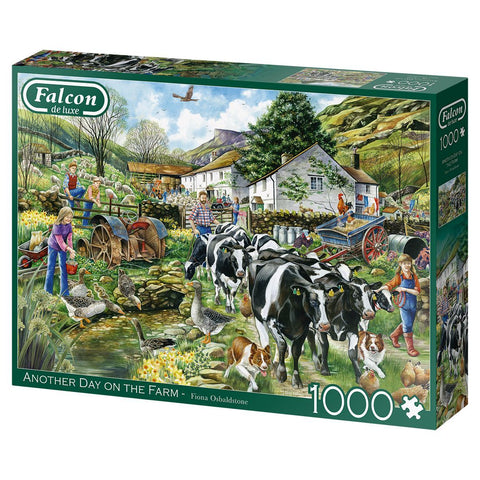 Another Day on the Farm Falcon de Luxe jigsaw puzzle