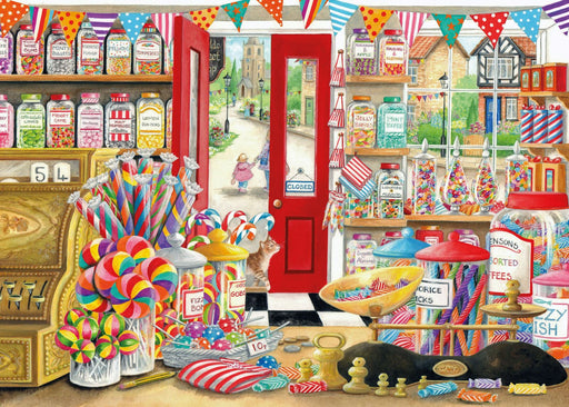 Ye Olde Sweet Shop 1000 Piece Jigsaw Puzzle