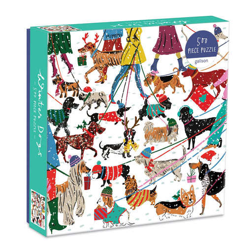 Winter Dogs 500 Piece Jigsaw Puzzle