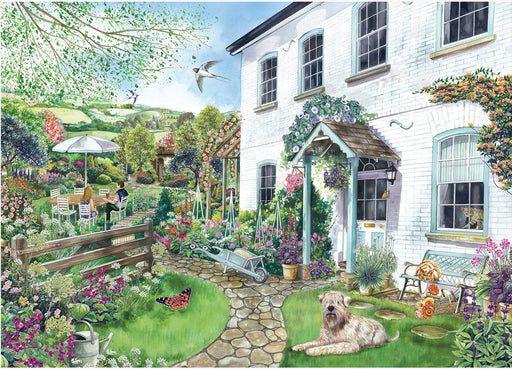 Falcon de luxe Cottage with a View 1000 Piece Jigsaw Puzzle