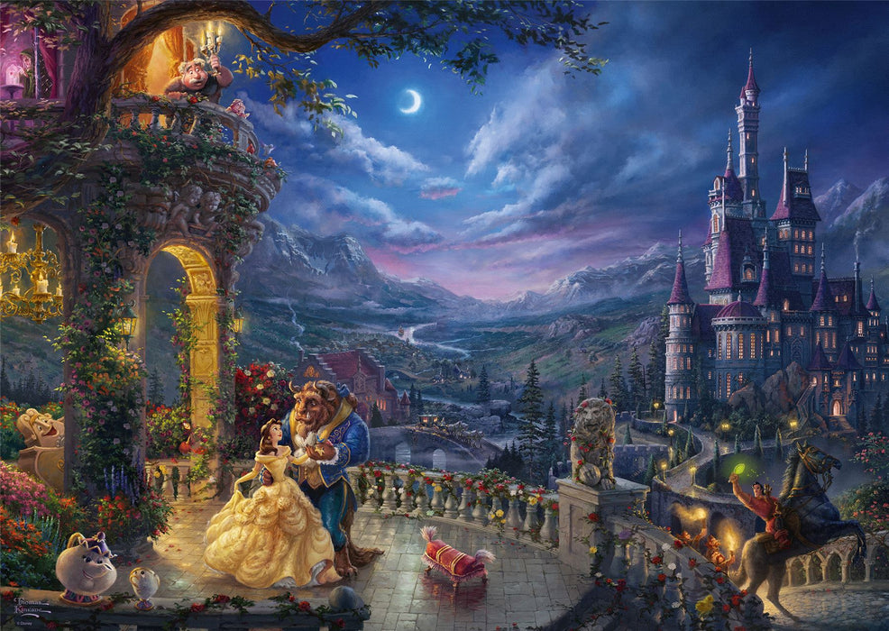 Thomas Kinkade - Disney Beauty & the Beast 1000 Pieces Jigsaw Puzzle