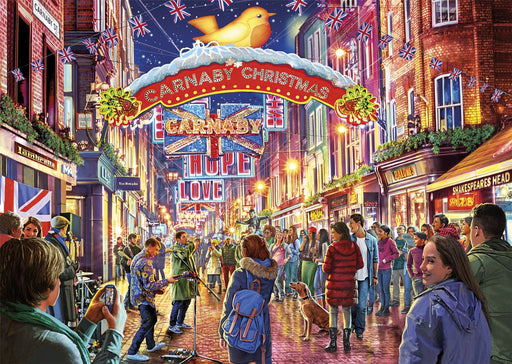 Gibsons Carnaby Street 500 piece Jigsaw Puzzle