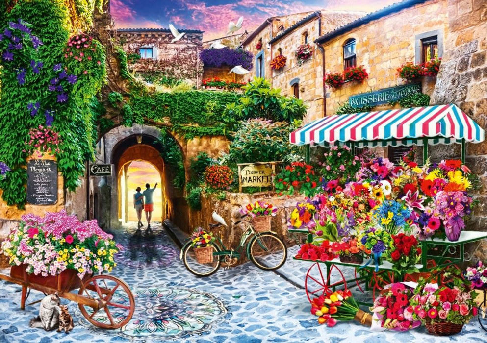 The Flower Market 1000 Piece Jigsaw Puzzle