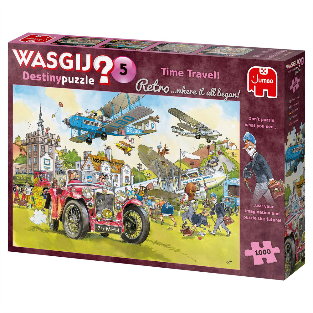 Wasgij Retro 5 Time Travel! 1000 Piece Jigsaw Puzzle 2