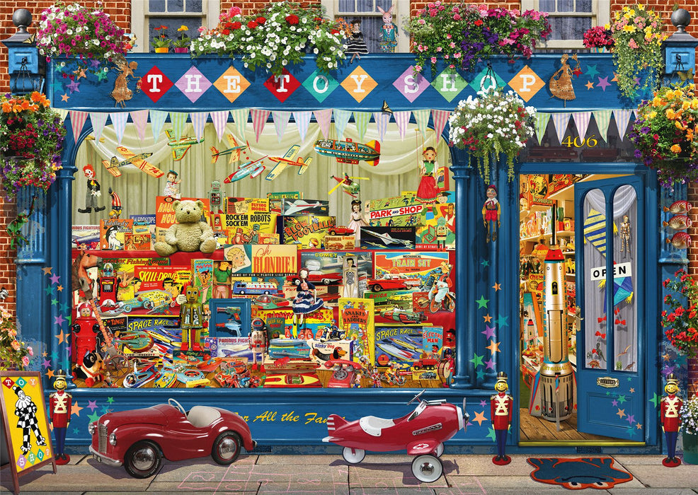 Garry Walton - Toy Store 1000 Piece Jigsaw Puzzle