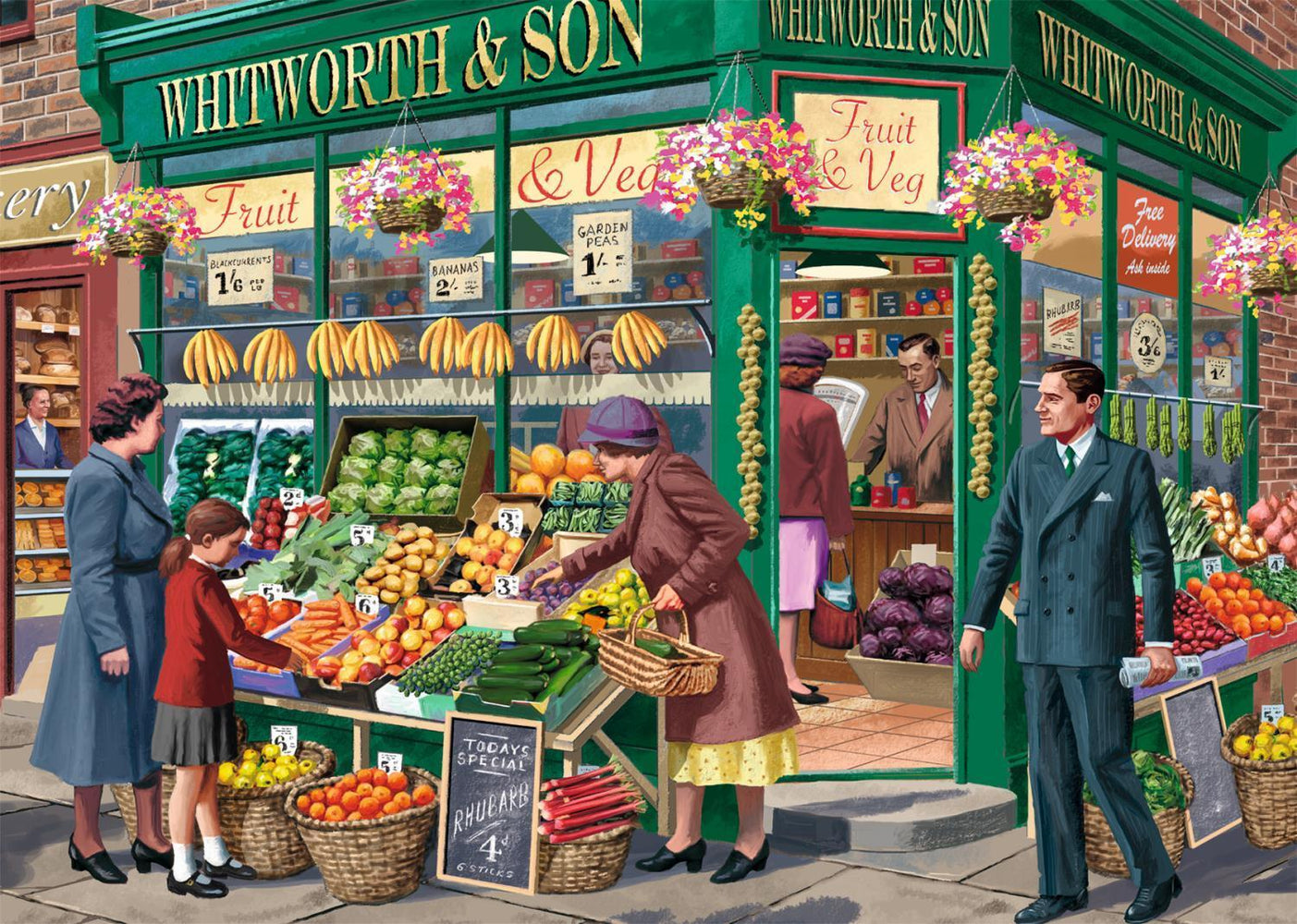 The Greengrocer 1000 piece puzzle