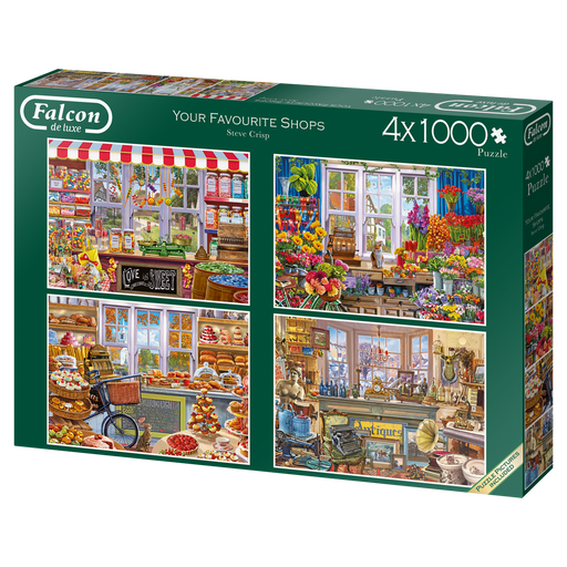 Your Favourite Shops 4 x 1000 Piece Jigsaw Puzzle