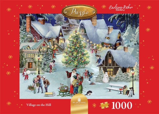 Village on the Hill - Coppenrath 1000 Piece Jigsaw Puzzle