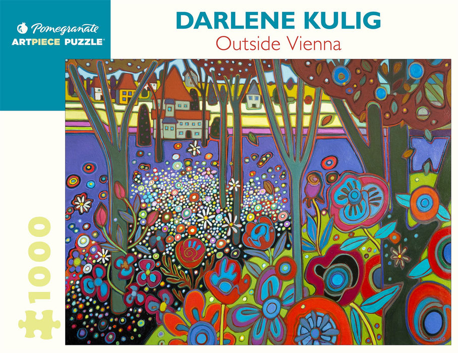 Darlene Kulig: Outside Vienna 1000 Piece Jigsaw