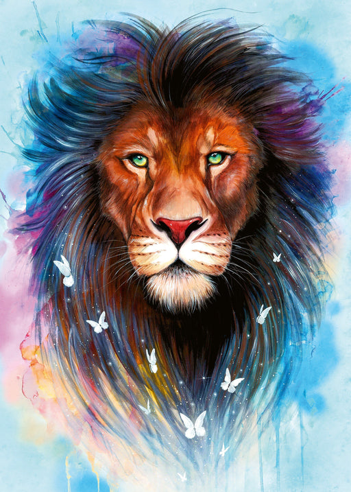 Majestic Lion 1000 Piece Jigsaw Puzzle