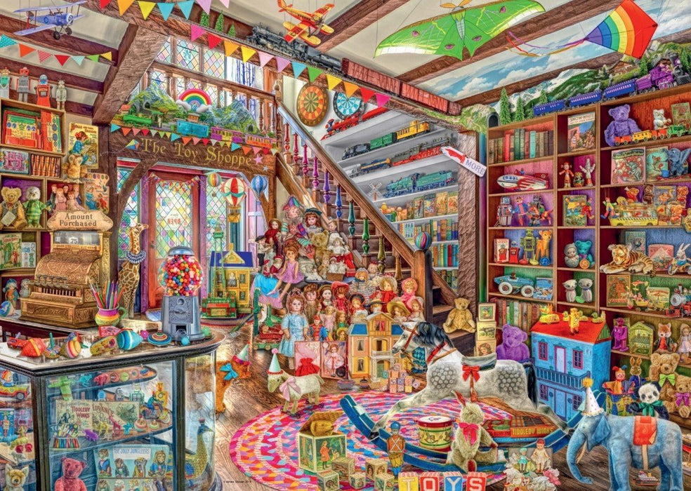 The Fantasy Toy Shop 1000 Piece Jigsaw Puzzle