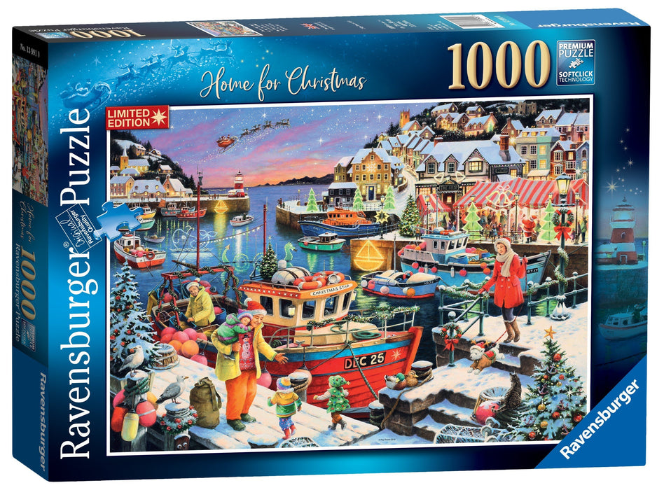 Home For Christmas! Limited Edition 2019 1000 Piece Puzzle