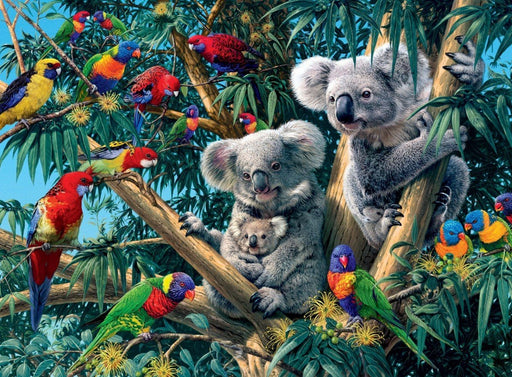 Koalas in a tree 500 Piece Jigsaw Puzzle
