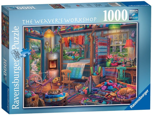 The Weaver's Workshop 1000 Piece Jigsaw Puzzle