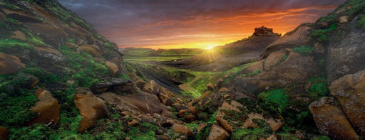 Sunrise over Iceland 1000 Piece Jigsaw Puzzle