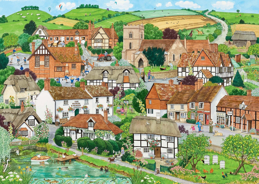 Rural Retreats 1000 Piece Jigsaw Puzzle