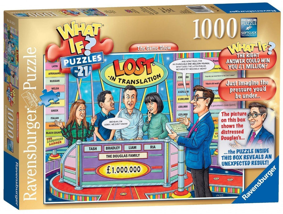 WHAT IF? No.21 The Game Show 1000 Piece Jigsaw Puzzle
