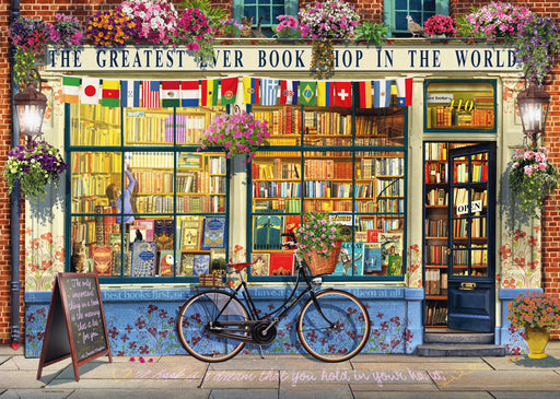 The Greatest Bookshop 1000 Piece Jigsaw Puzzle