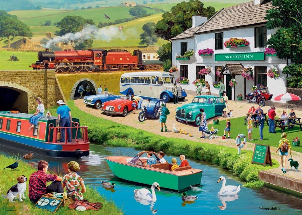 Leisure Days No 2 Exploring the Dales 1000 Piece Jigsaw Puzzle