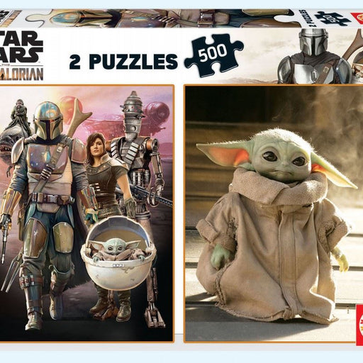 Mandalorian 2-in-1 500 piece Jigsaw Puzzles