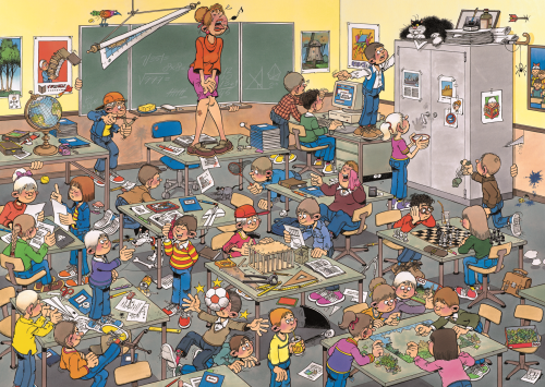 Jan van Haasteren Find the Mouse 500 Piece Jigsaw Puzzle