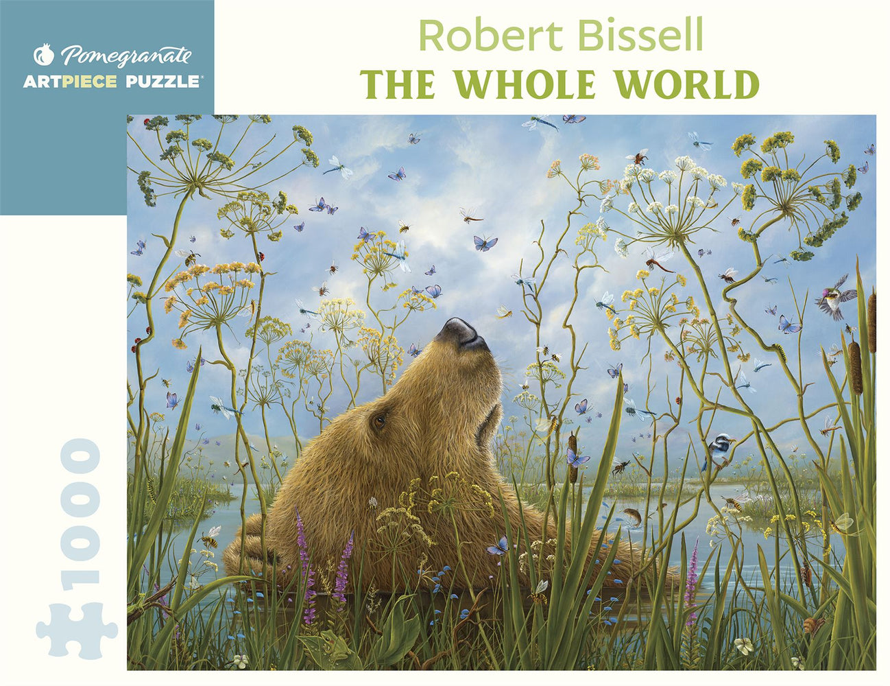 Robert Bissell: The Whole World 1000 Piece Jigsaw
