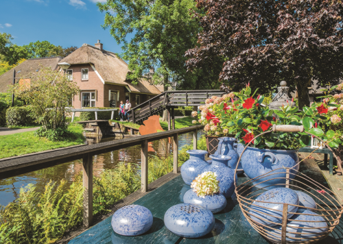 Giethoorn, The Netherlands 1000 Piece Jigsaw Puzzle