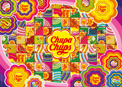 Chupa Chups Colourful 500 Piece Jigsaw Puzzle