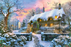 Whitesmith's Cottage in Winter 1500 Piece Jigsaw Puzzle