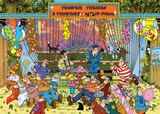 Jan van Haasteren The Fair, Pulling Ropes 150 Piece Jigsaw Puzzle