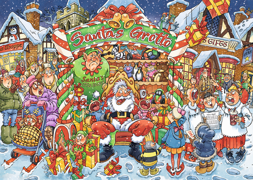 Wasgij Christmas 14 Santa's Little Helper 1000 Piece Jigsaw Puzzle