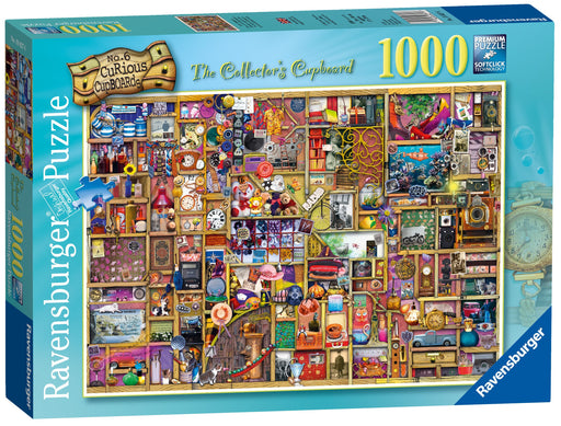 Curious Cupboard No.6 - The Collector's Cupboard 1000 Piece Jigsaw Puzzle
