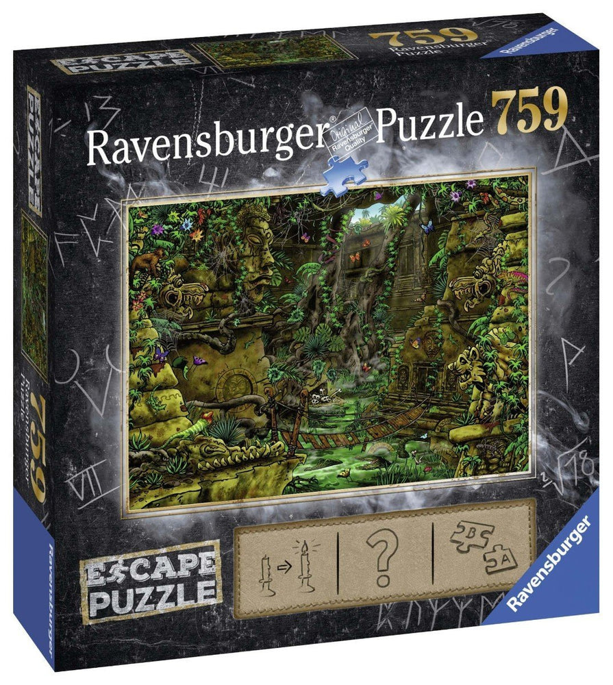 Escape Puzzle Temple 759 Piece Jigsaw Puzzle