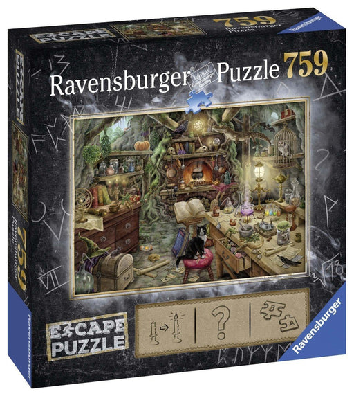 Escape Puzzle Witch's Kitchen 759 Piece Jigsaw Puzzle