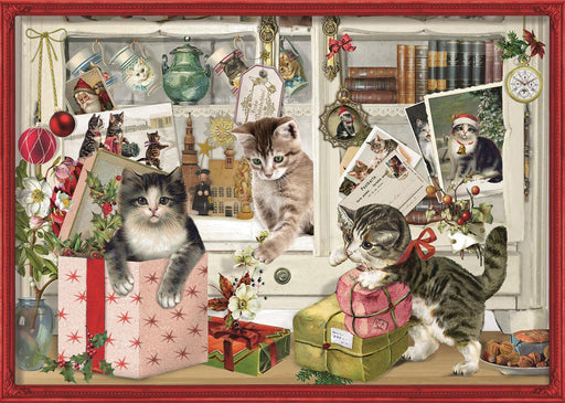 Christmas Kittens - Coppenrath 1000 Piece Jigsaw Puzzle