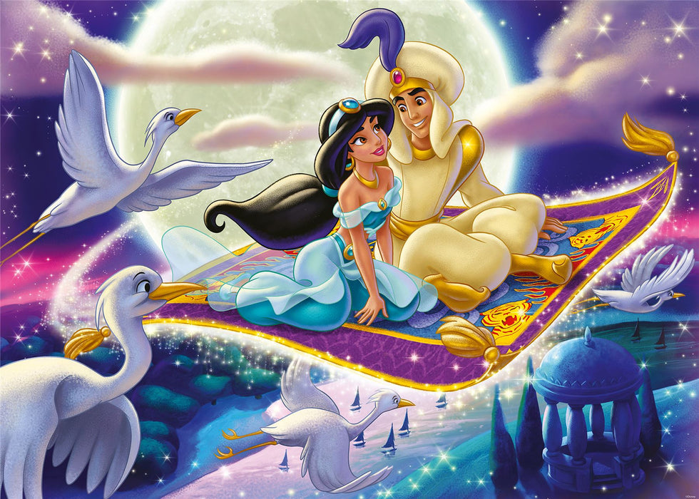 Disney Collector's Edition Aladdin, 1000 Piece Jigsaw Puzzle