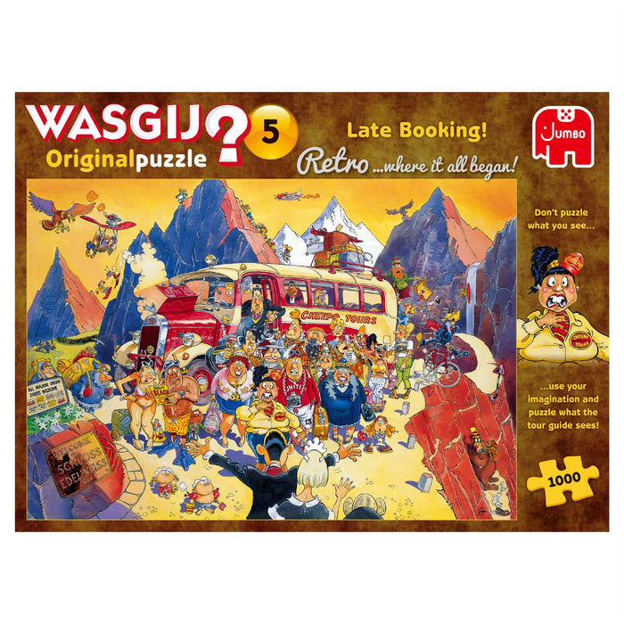 Wasgij Retro 5 Late Booking! 1000 Piece Jigsaw Puzzle 1