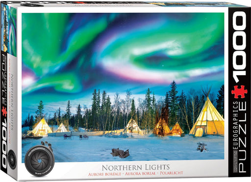 Northern Lights - Yellowknife 1000 Piece Jigsaw Puzzle