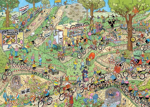 Jan van Haasteren World Championship Cyclo-Cross 1000 Piece Jigsaw Puzzle