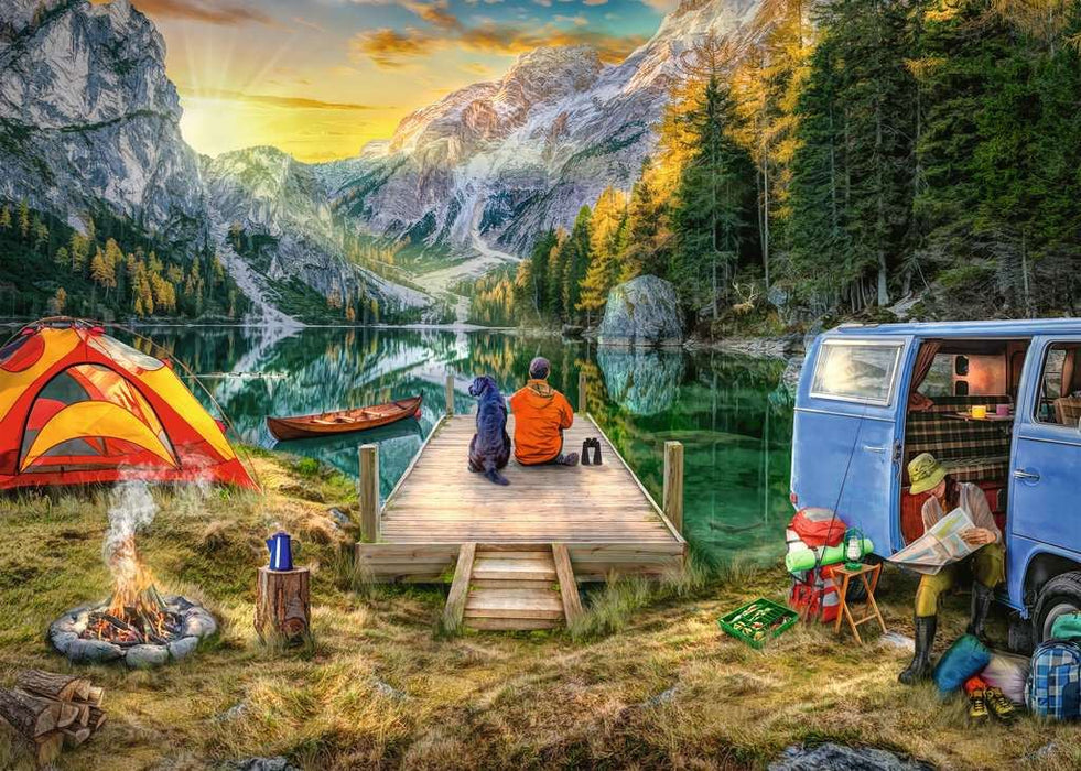 Calm Campside, 1000 Piece Jigsaw