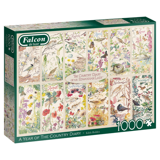 Falcon A Year of the Country 1000 Piece Jigsaw box 1