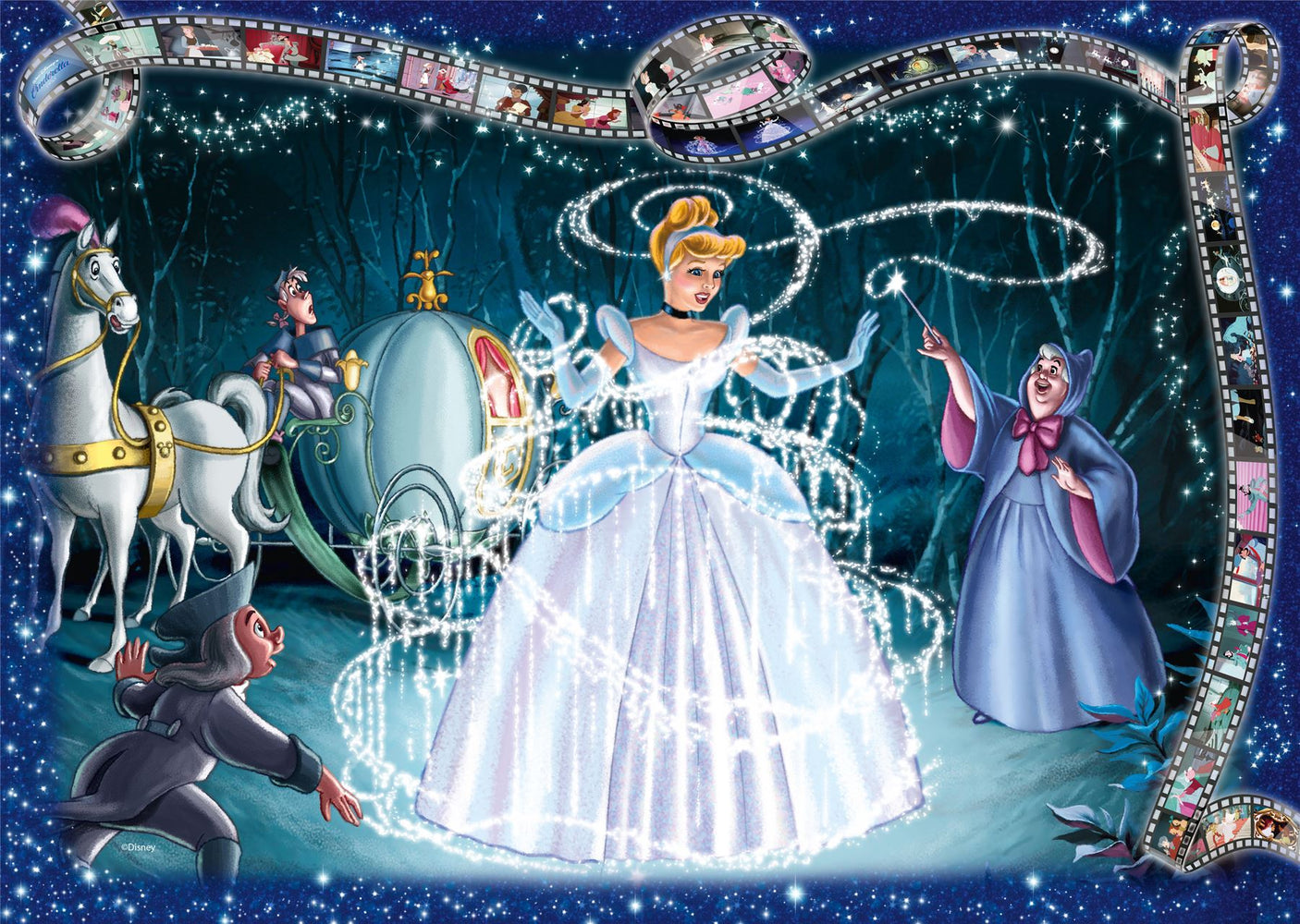 Disney Collector's Edition Cinderella, 1000 Piece Jigsaw Puzzle
