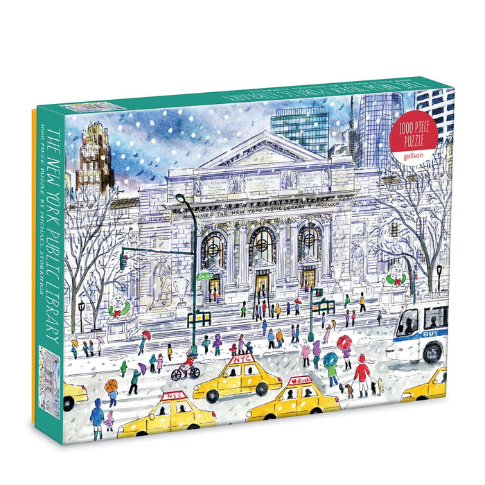 Michael Storrings New York Public Library 1000 Piece Jigsaw Puzzle box